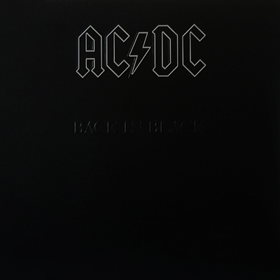 Back In Black LP