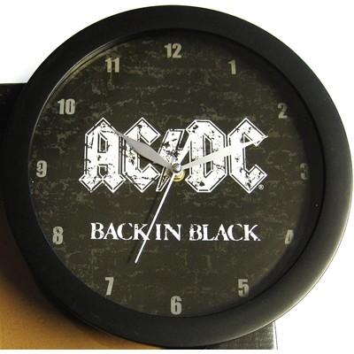 Back In Black - WALL CLOCK