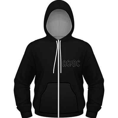 Back In Black - ZIP HOODIE