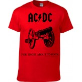 For Those About To Rock [RED] - KID SHIRT
