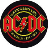 High Voltage Rock n' Roll / For Those About To Rock - SLIPMAT