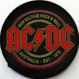 High Voltage Rock N' Roll - PATCH