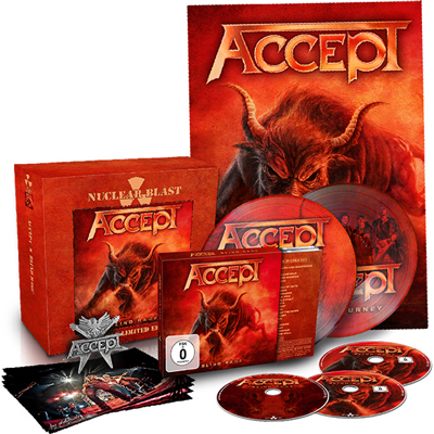 Blind Rage CD/BRD+DVD+2PIC.EP BOX