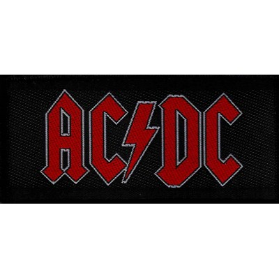 AC/DC red logo - PATCH