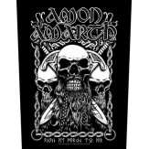 Bearded Skull - BACKPATCH