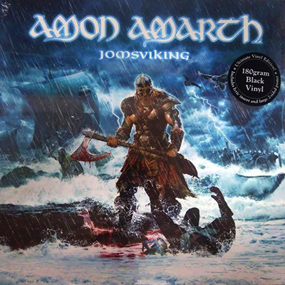 ledo takas records amon amarth jomsviking lp. Black Bedroom Furniture Sets. Home Design Ideas