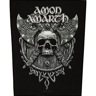 Skull and Axes - BACKPATCH