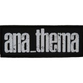 ANATHEMA new logo - PATCH