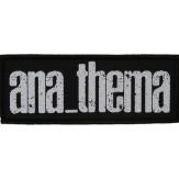 ANATHEMA new logo - PATCH