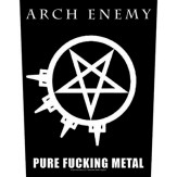 Pure Fucking Metal - BACKPATCH