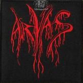 ARVAS red logo - PATCH