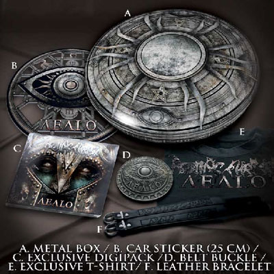 Aealo CD+DVD BOX