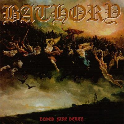 Blood Fire Death CD