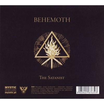 Ledo Takas Records Behemoth The Satanist Cd Digi