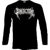 BENEDICTION logo - LONGSLEEVE