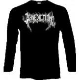 BENEDICTION logo - LONGSLEEVE