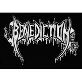 BENEDICTION logo - PATCH