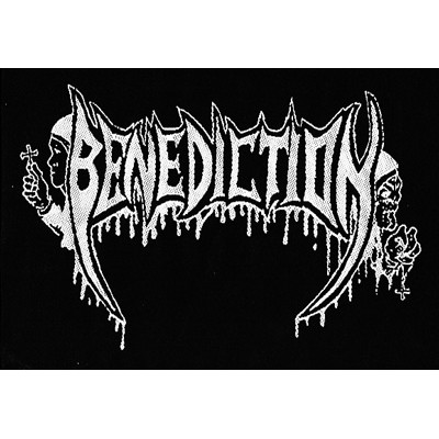 BENEDICTION logo - PATCH
