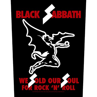 We Sold Our Soul for Rock'n Roll - BACKPATCH