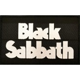 BLACK SABBATH logo - PATCH