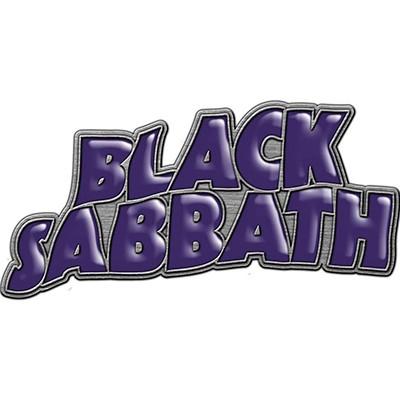 purple logo - METAL PIN