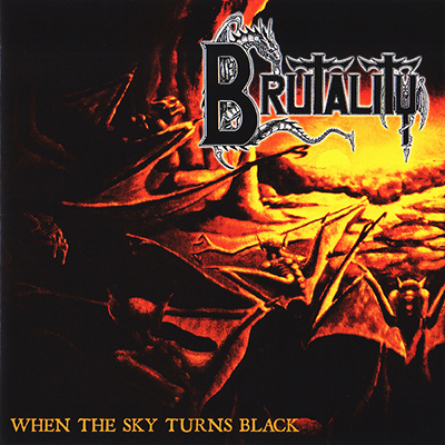 When The Sky Turns Black CD
