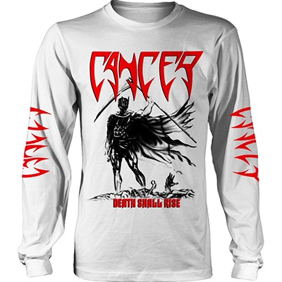 Death Shall Rise [WHITE] - LONGSLEEVE