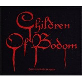 CHILDREN OF BODOM logo - PATCH