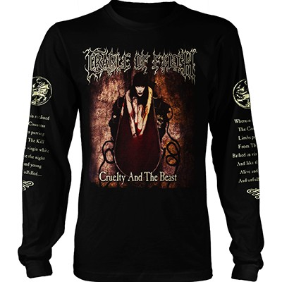 Cruelty and The Beast - LONGSLEEVE