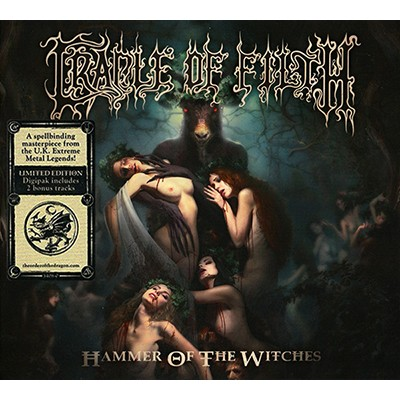 Hammer of the Witches CD DIGI