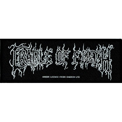 CRADLE OF FILTH logo - PATCH