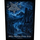 Where Shadows Forever Reign - BACKPATCH