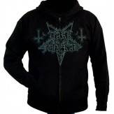 dark gray logo - ZIP HOODIE