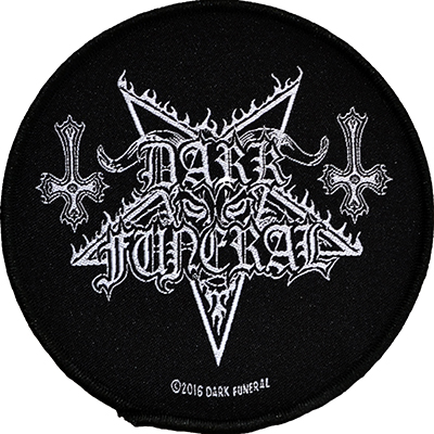 DARK FUNERAL logo - PATCH