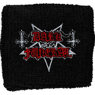 DARK FUNERAL logo - WRISTBAND
