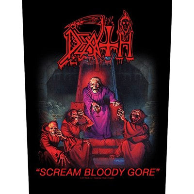 Scream Bloody Gore - BACKPATCH