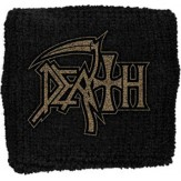 DEATH logo - WRISTBAND