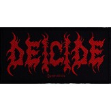 DEICIDE logo - PATCH
