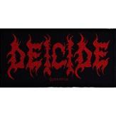 DEICIDE logo - PATCH