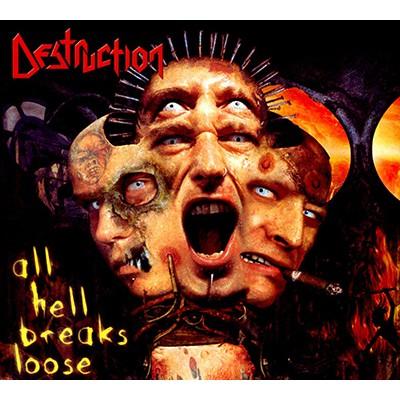 All Hell Breaks Loose CD DIGI