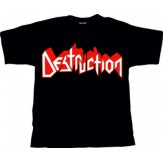 DESTRUCTION logo - TS