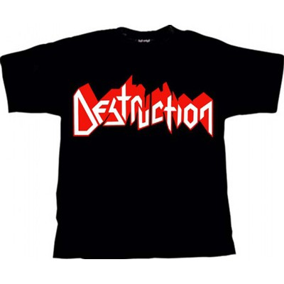 DESTRUCTION logo - TS