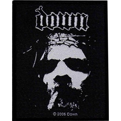 DOWN logo / face - PATCH
