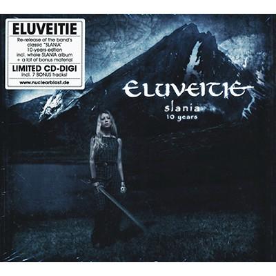 Slania - 10 Years CD DIGI