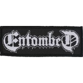 ENTOMBED logo - PATCH