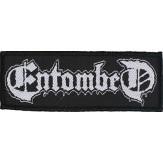 ENTOMBED logo - PATCH