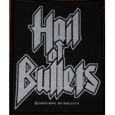 HAIL OF BULLETS logo - PATCH