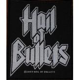 HAIL OF BULLETS logo - PATCH