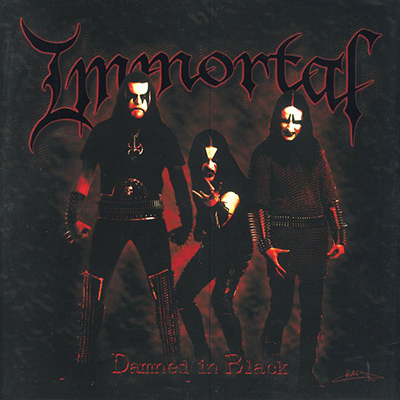 Damned In Black LP