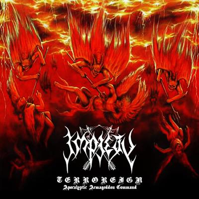 Terroreign - Apocalyptic Armageddon Command CD DIGI